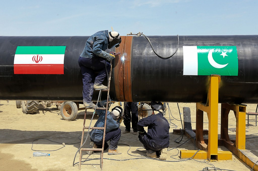 Iran Pakistan pipeline