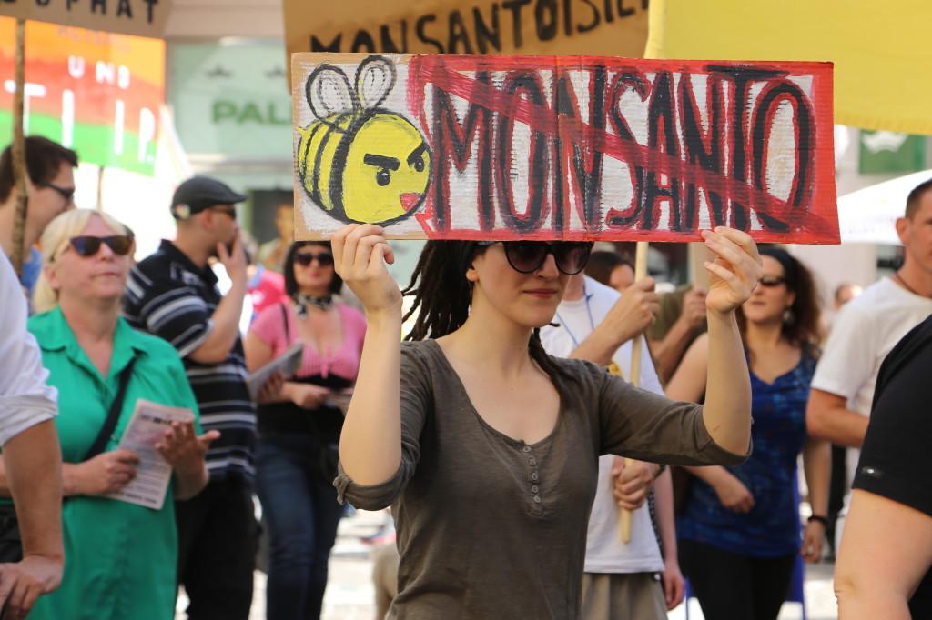 Monsanto protestor